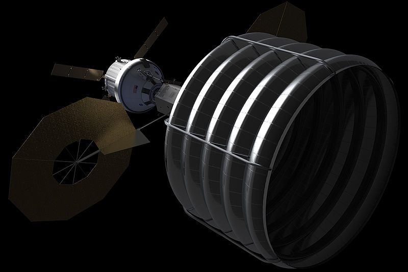 a spacecraft for NASA's future Asteroid Retrieval and Utilization mission.