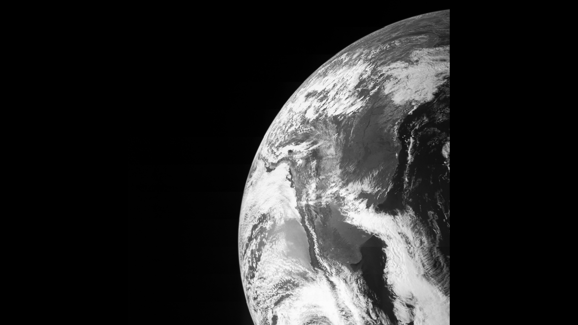 On Oct. 9, Juno flew by Earth using the home planet's gravity to get a boost needed to reach Jupiter. The JunoCam caught this image of Earth, and other instruments were tested to ensure they work as designed during a close planetary encounter. Credit: NASA/JPL-Caltech/Malin Space Science Systems