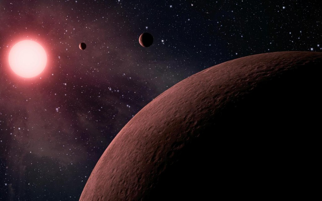 Artist concept featured by NASA's Kepler project. Image credit: NASA.