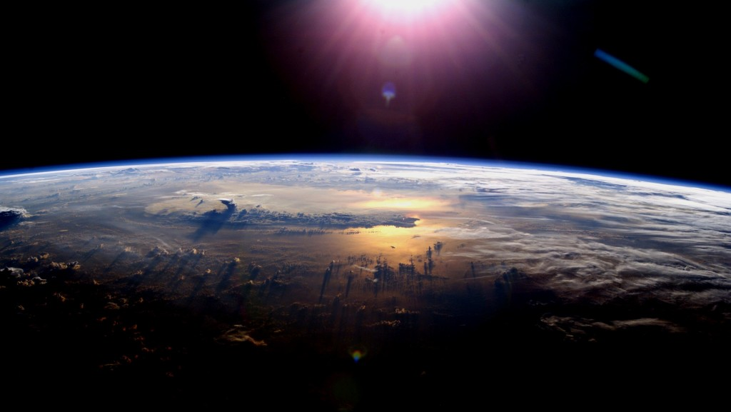 Earth from space. Credit: NASA.